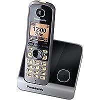 Panasonic KXTG6711 DECT Cordless Phone (Black)