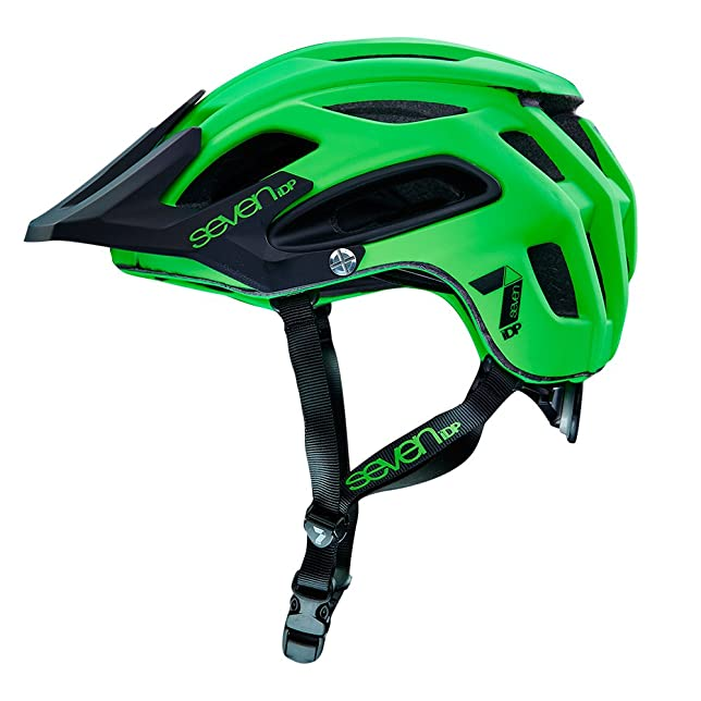 7iDP M2 Casco, Neon Lime/Black