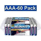 ACDelco Super Alkaline AAA Batteries, 60-Count