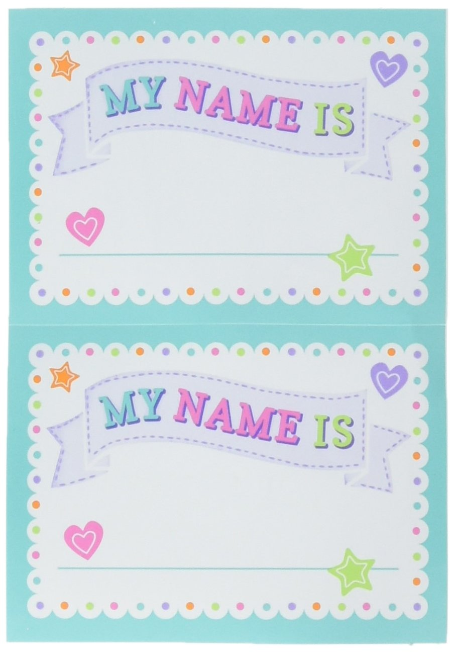 Amazon Com Amscan Baby Shower Name Tags Toys Games
