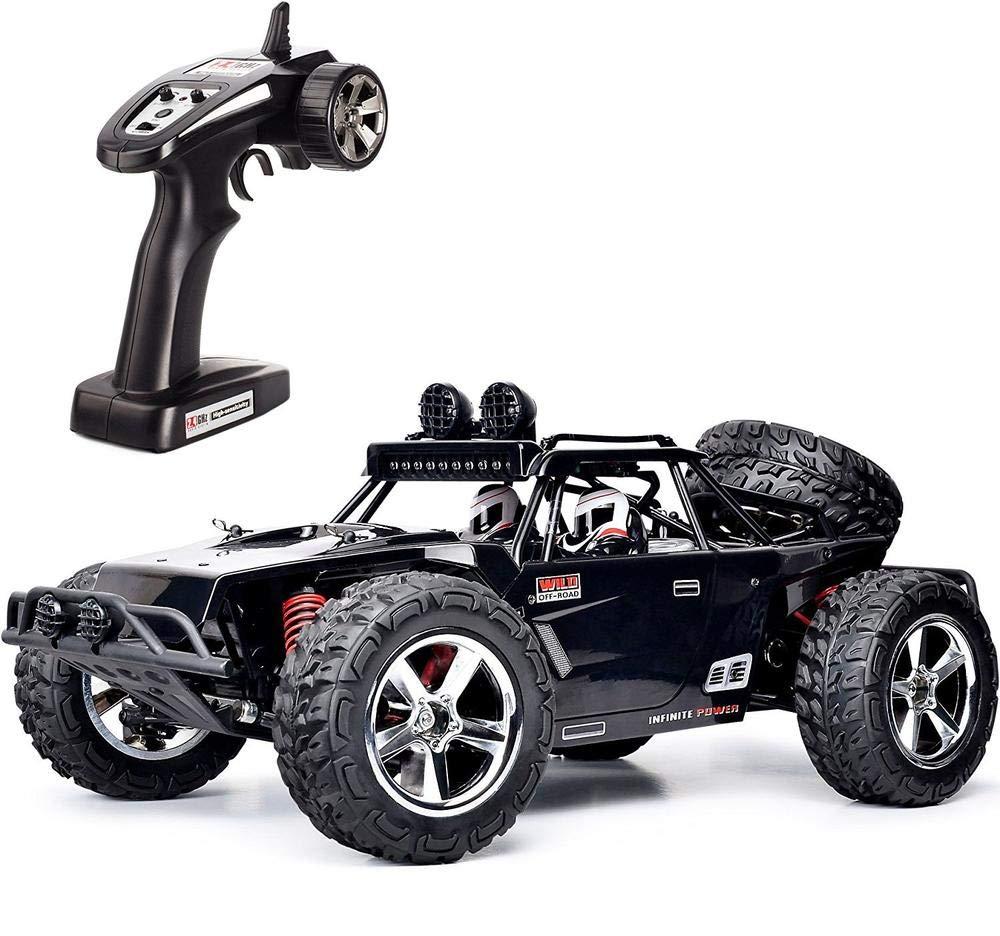 RCZYBZ RC Auto 1 12 RC Hochgeschwindigkeits Rennauto mit Fernbedienung, 4WD Geländefahrzeug, 2,4 GHz, Kletterspielzeug, wiederaufladbar