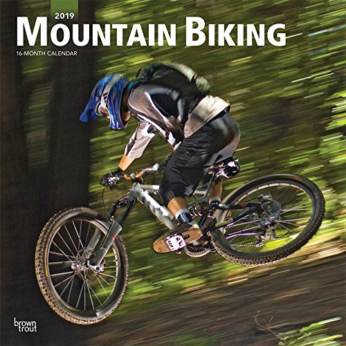 Mountain Biking 2019 12 x 12 Inch Monthly Square Wall Calendar, Extreme Bicycle Sport (Multilingual Edition) by BrownTrout Publishers