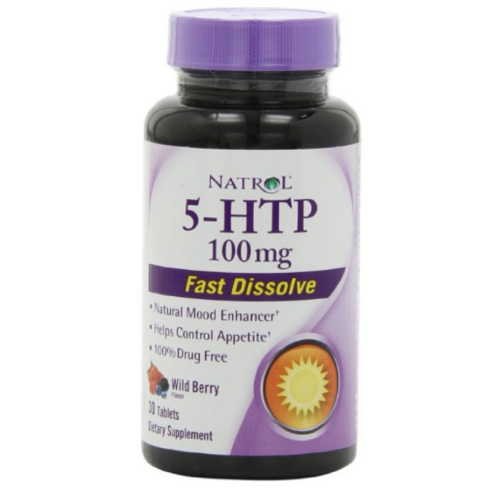 5-HTP, Wild Berry, 100 mg, 30 Tablets ( Multi-Pack)