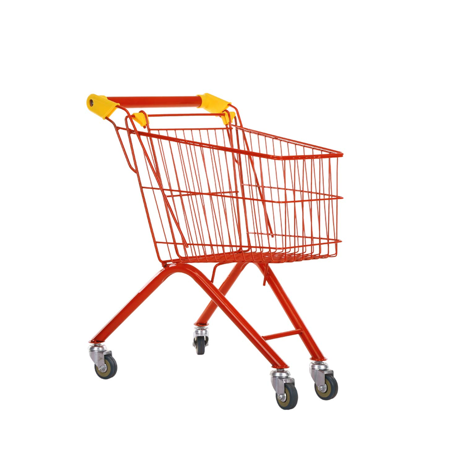RAINBOW TOYFROG Kids Shopping cart-Toy Grocery Trolley for Pretend Play-Study Metal Steel Frame with Beautiful Colors by RAINBOW TOYFROG