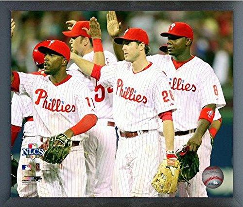 Jimmy Rollins, Chase Utley, & Ryan Howard Philadelphia Phillies MLB NLCS Action Photo (Size: 12