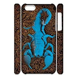 VNCASE Scorpion Phone Case For Iphone 4/4s [Pattern-5]