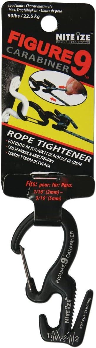 Niteize Figure 9/Carabiner Small Black
