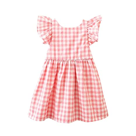 Vestido de princesa para niña, vestido de celosía con ...