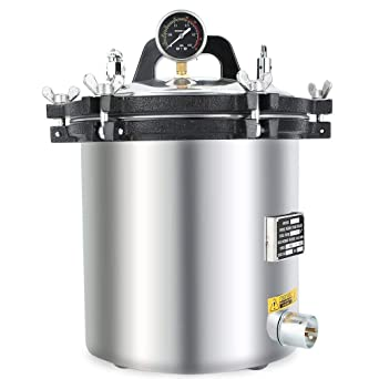 Amazon.com: Esterilizador de vapor eléctrico con ...