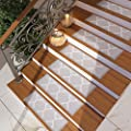 """[Set of 7] Grey Stair Tread Rugs 