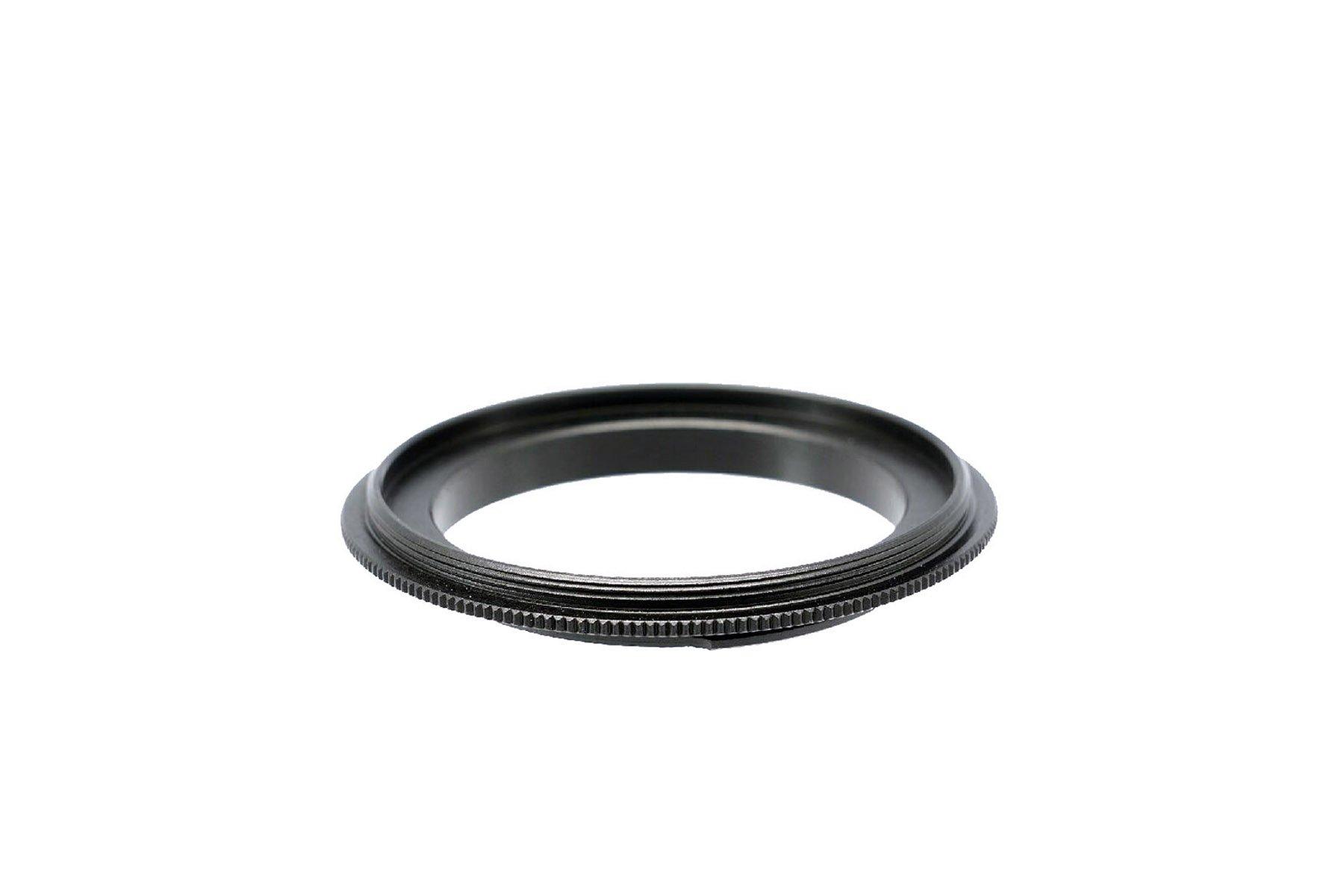 Photo Plus Sony Alpha A99 A77 A65 A58 A57 A55 A37 A35 A33 A900 A850 A580 A560 A550 A500 A450 A390 A380 A350 A330 A290 A230 to 58mm Reverse Mount Adapter by Photo Plus