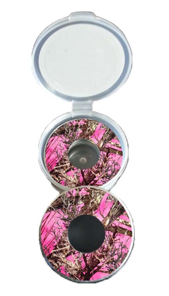 Pink Camo Pitching Washers W/Case