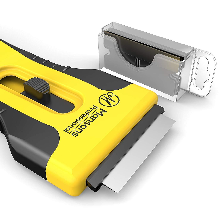 Compra MANSONS vitrocerámica arañazos Incluye 15 cuchillas ...