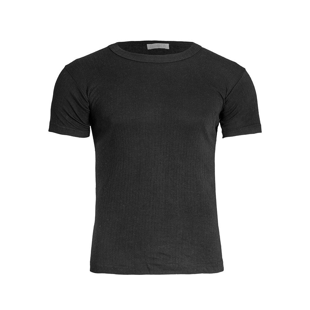 Brody & Co. Mens Thermal T-Shirts Brushed Lined Ribbed Short Sleeve Tops Winter