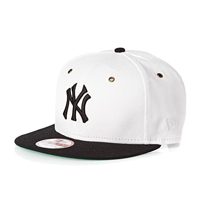 Gorra New Era - 9Fifty Mlb New York Yankees blanco negro talla  S M   Amazon.es  Ropa y accesorios 5568df60b3e