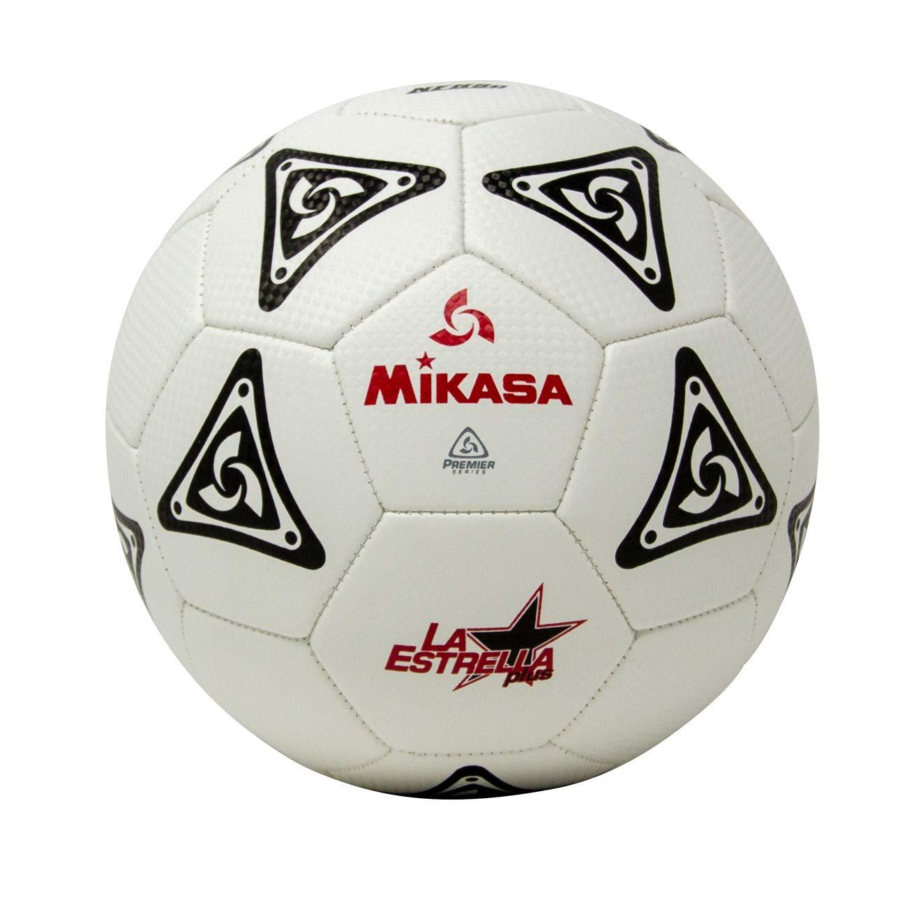 Mikasa LE50 la Estrella de balón de fútbol (tamaño 5), Unisex ...