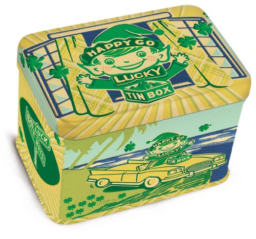 Blue Q Happy Go Lucky Junior Treasure Box