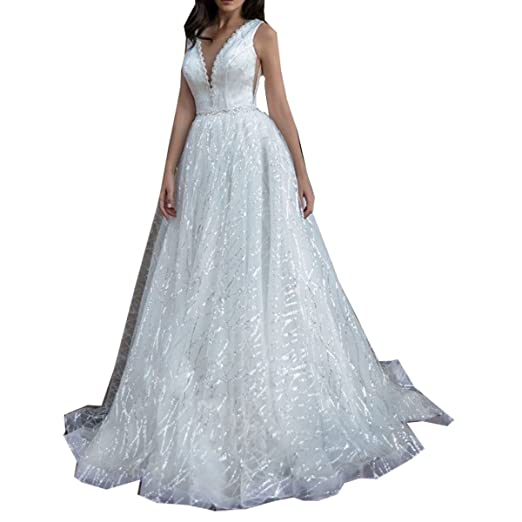 9d1c9debacb Molixin White Plus Prom Dresses Ball Gowns Double Shoulder Wedding Dresses  Bridal Gowns Bling Beading Sweet 16 Dresses at Amazon Women s Clothing  store