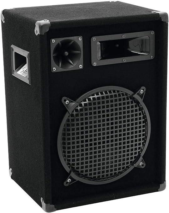 Omnitronic DX-1022 - Altavoces de pie, 250 mm, 1.0, 200 W, 8 Ohmio, 95 Db