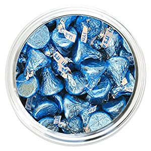 It's A Boy Blue Hershey's Kisses - 2 lb Resealable Bag