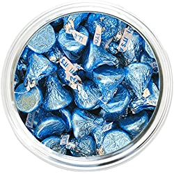 It's A Boy Blue Hershey's Kisses - 2 lb Resealable Bag