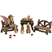 Fairy Garden Starter Kit & Accessories Miniature Fairy Figurines Bella & Friends by Pretmanns