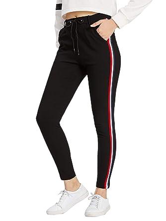 ebe90c7121ca4b DIDK Damen Jogginghose Sporthosen Sweathose mit Elastischer Bund:  Amazon.de: Bekleidung
