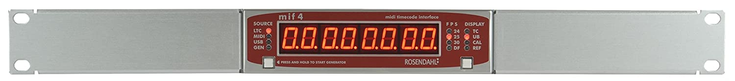 Rosendahl MIF 4 Professional MIDI Timecode Interface