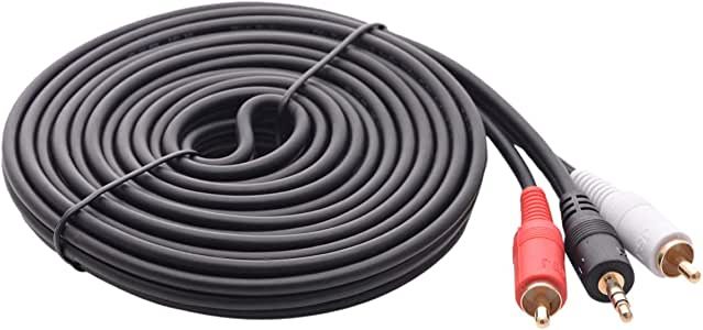 Mabuti Aux Audio Cable 3.5mm male to 2rca male