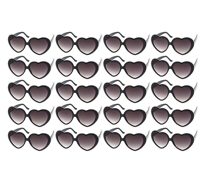 Amazon.com: 10 paquetes de gafas de sol de colores neón al ...
