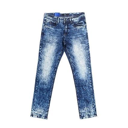Yzibei Jeans Calientes Hombre, otoño e Invierno, Corbata ...