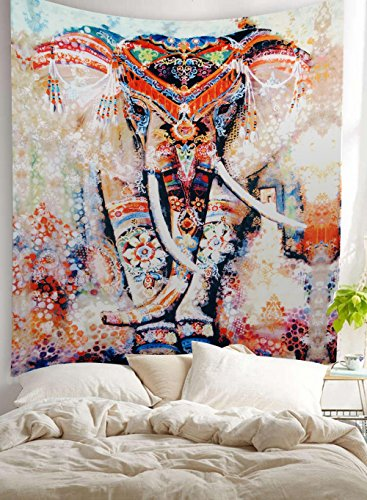 Bohemian Hippie Elephant Hanging Tapestry product image