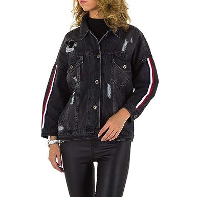 best sneakers dd13a f9571 Damen Jacke Destroyed Jeansjacke Jeans Übergangsjacke Trendy ...