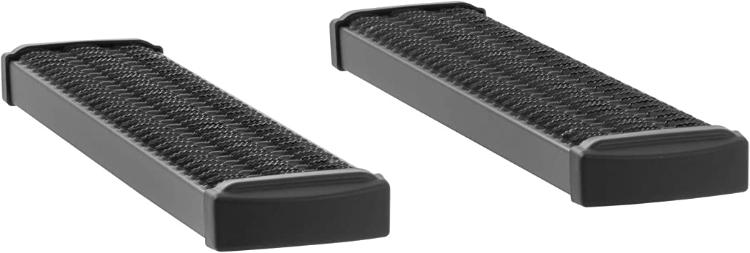 E-250 LUVERNE 415036-570121 Grip Step Black Aluminum 36-Inch Cargo Van Running Boards for Select Ford E-150 E-350 E-450