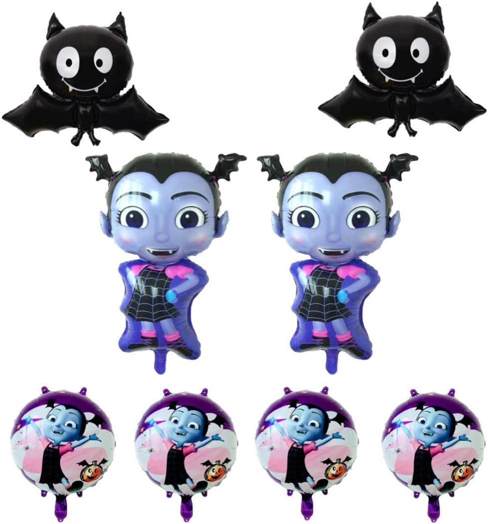 Vampirina Balloon, Birthday Party Supplies 8 Pack Balloons, Disney Party Supply Decorations Girl