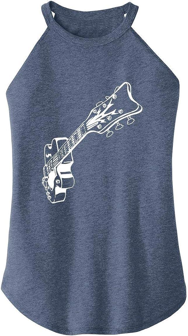 Comical Shirt Ladies Guitar Graphic Tee Rocker