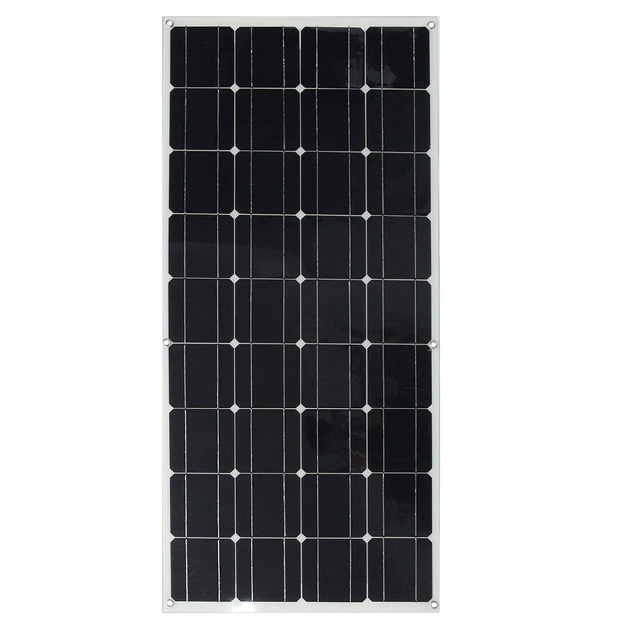 DeeploveUU RVのボートのためのElfeland 120W 12V Aクラスの半適用範囲が広い太陽電池パネルの充電器に合いなさい B07QKZCLM2