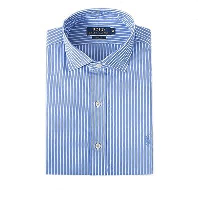pas mal 387ca dcdb6 Ralph Lauren Chemises - Chemise Bleu Rayé - Taille XL ...