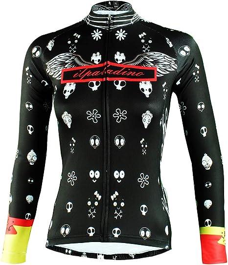 Winter sports Maillot Ciclismo Mujer Respirable Secado Rápido ...