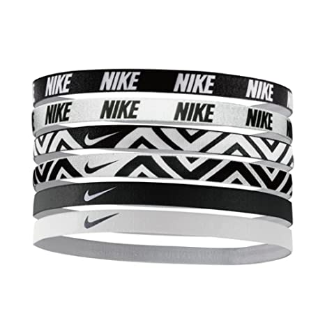 Amazon.com  Nike Printed Headbands Assorted 6pk (One Size Fits Most ... 0f90e25b16e