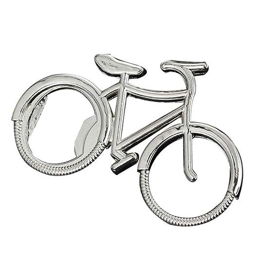 Abridor de botellas de metal con forma de bicicleta personalizable ...