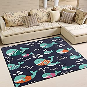 61zx9W8iqPL._SS300_ Whale Area Rugs & Whale Runners