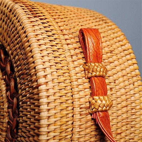 Bag Backpacks Shoulder Type Women b Rattan Handwoven Bag Omelas Straw Beach Crossbody Handbags O4qTFU