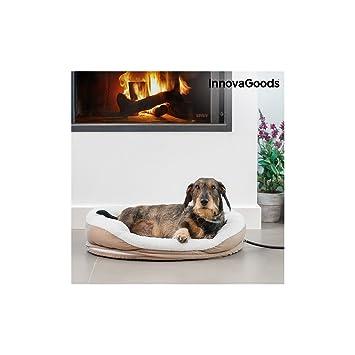 InnovaGoods IG115335 Cama Eléctrica Térmica para Mascotas, 18W, M: Amazon.es: Productos para mascotas