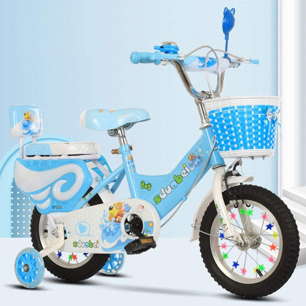 MQYZS Bicicleta sin Pedales para niños y niñas a Partir de 6-9 año, Bici 18