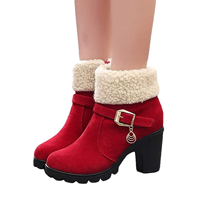 Fashion Winter Fur Ankle Classic Short Snow Boots Footwear Limsea Womens Warm Shoes