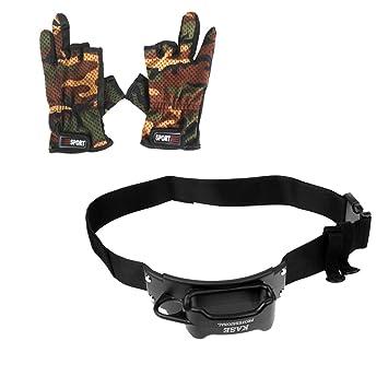 Jili en línea lucha guantes de pesca pesca cinturón arnés arnés de ...