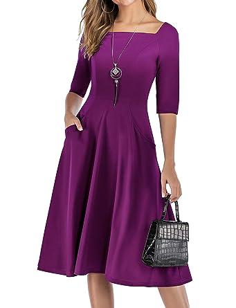 auf großhandel angemessener Preis großer Rabattverkauf Gardenwed Damen Kleid 1950er Vintage Rockabilly Faltenrock ...