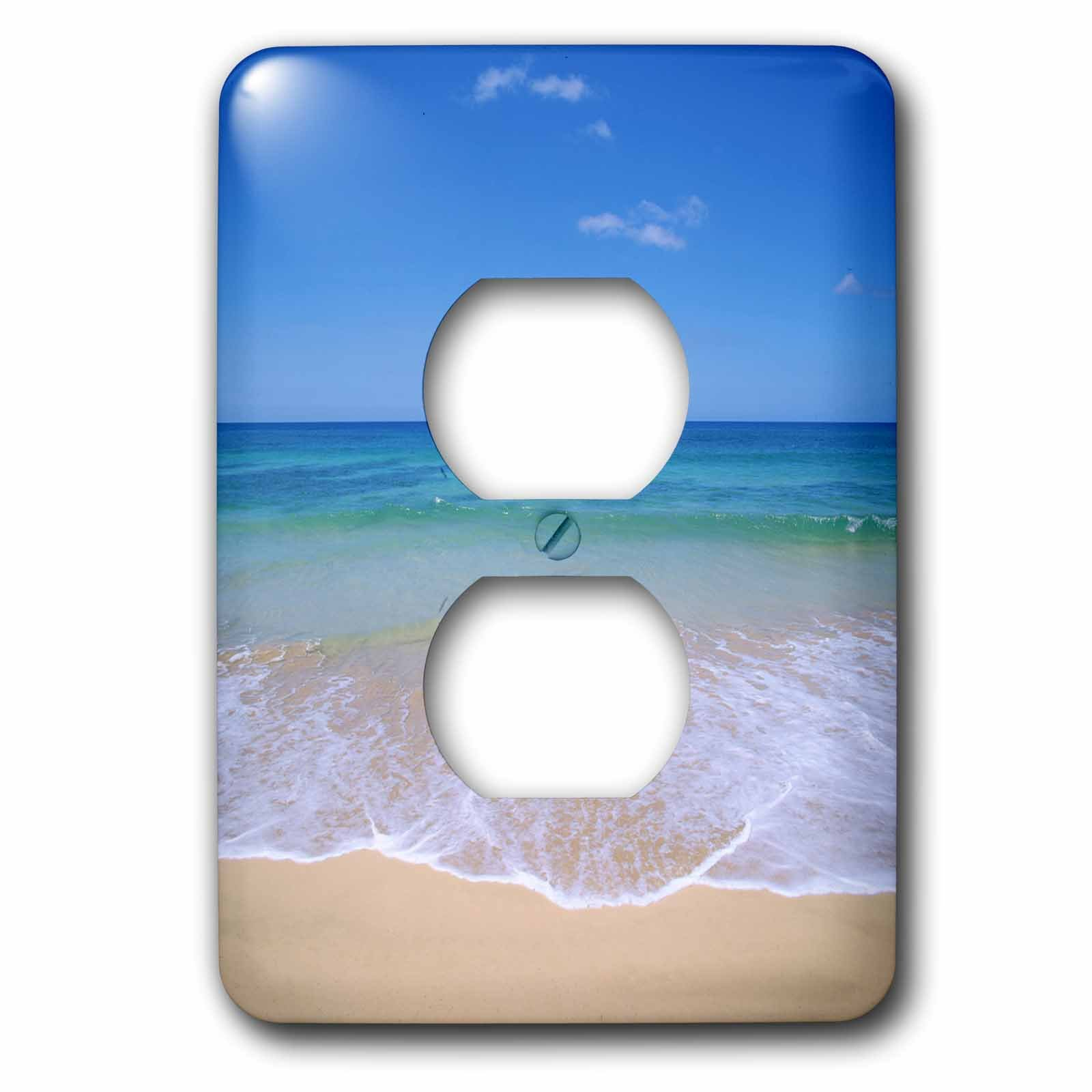 3dRose LLC lsp_89743_6 Beach, Hawaii, USA  Us12 Dpb1652  Douglas Peebles  2 Plug Outlet Cover by 3dRose