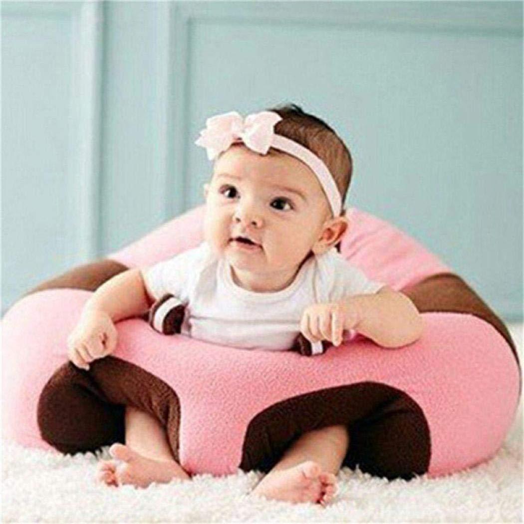 Asiento de apoyo para beb/é Sof/á Cartoon Moda Tubos Sill/ón Sof/á Asiento Taburete para aprender a sentarse 0-2 a/ños Fantiff Sof/á de beb/é